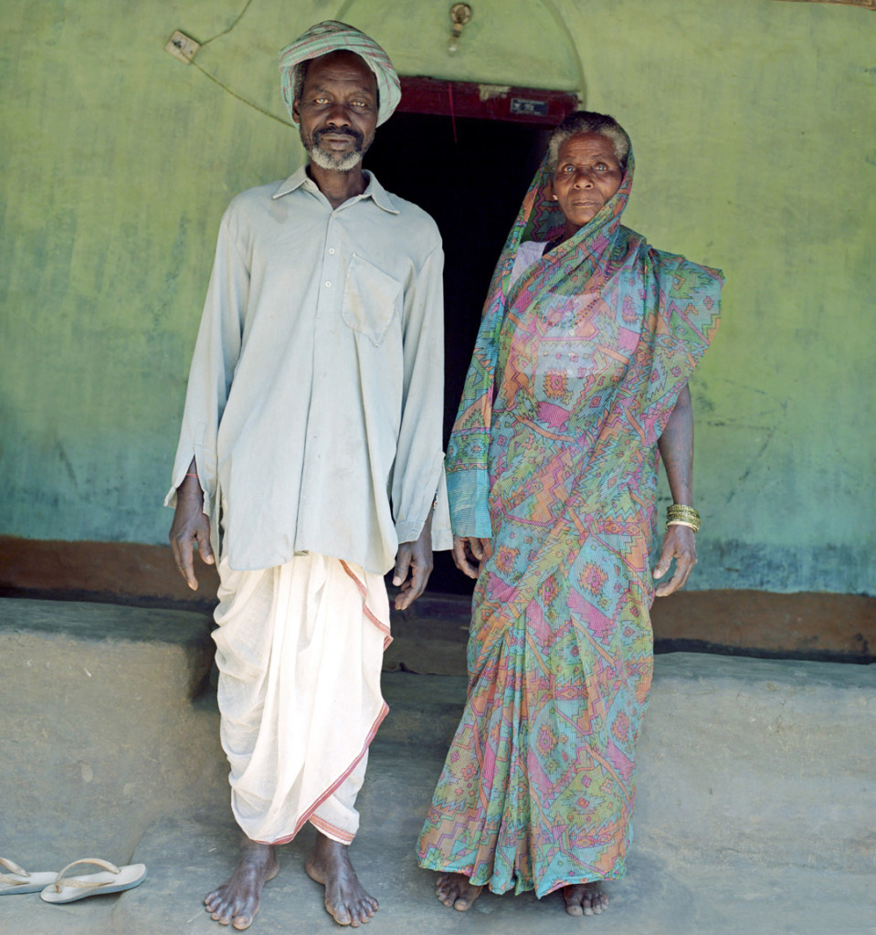 Siddi village elder and his wife in Karnataka, India.