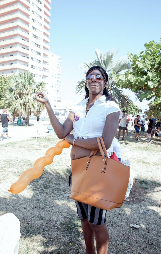 Trans woman in Cuba