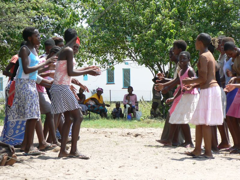 Annual cultural festival celebrated by Wayeyi in Botswana. MRG.