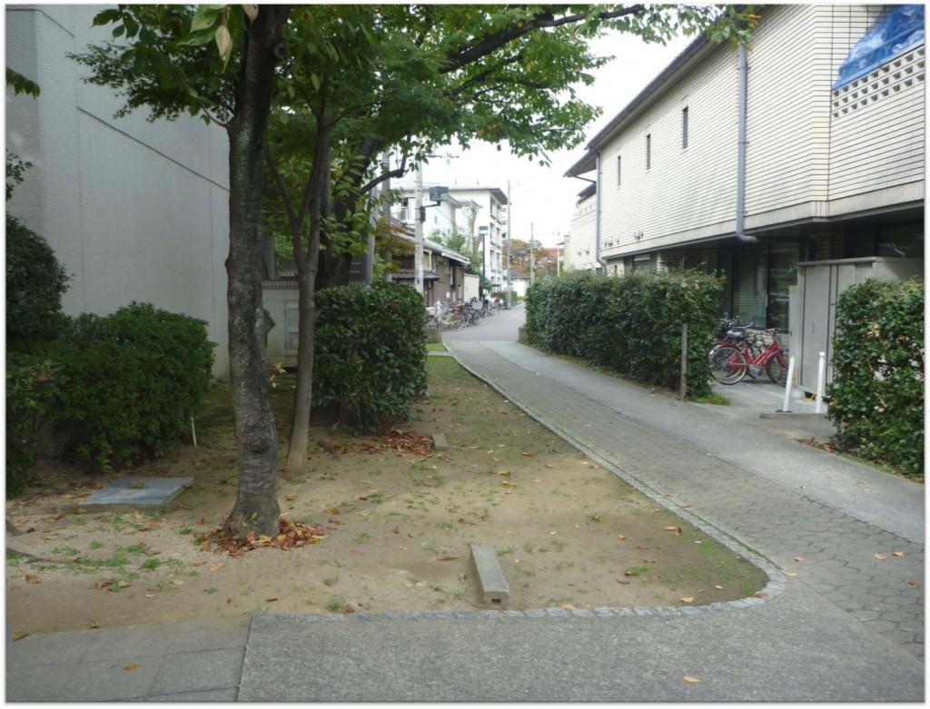 Modern housing in Sumiyoshi